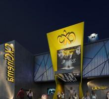 燕塘(4000方影院,品牌建筑室内一体化设计)